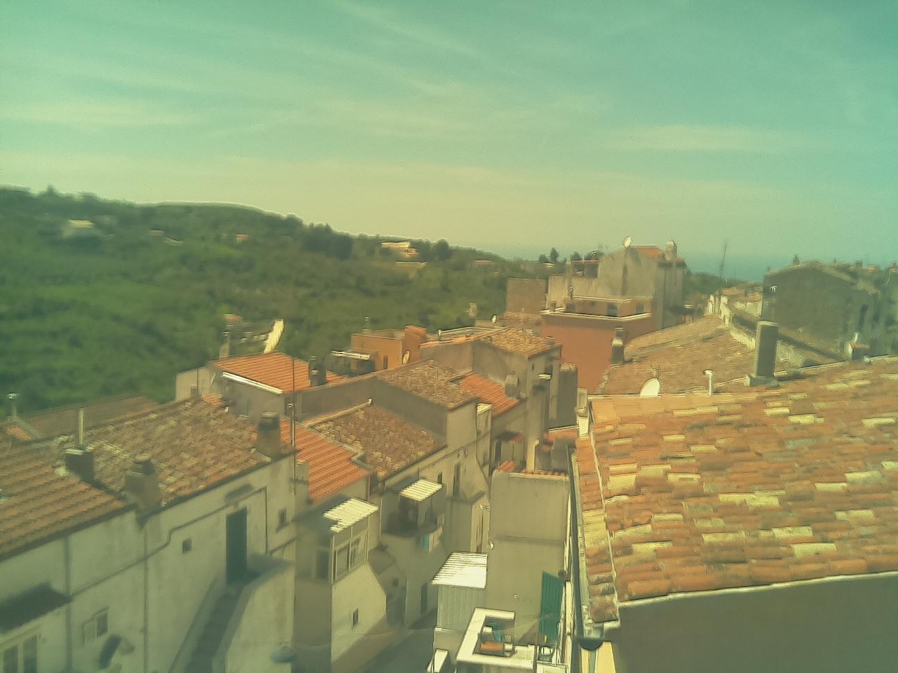 Webcam in Vico del Gargano mit Blickrichtung Westen